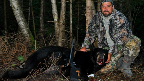 fall black bear hunting in northern ontario