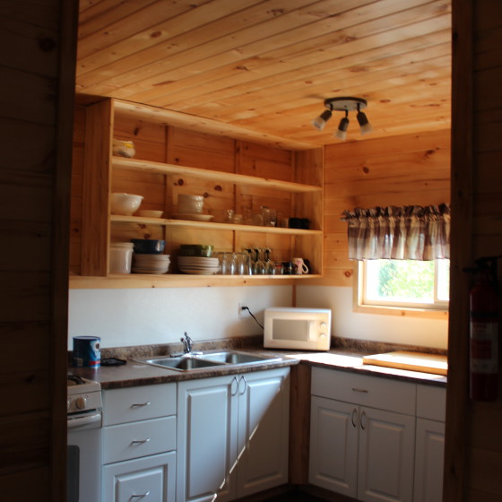kitchen upgrade at big bear camp